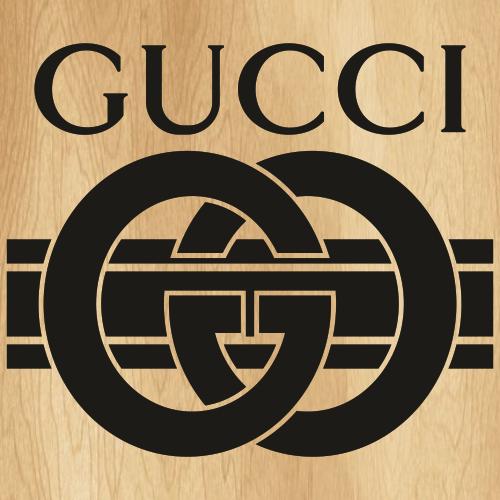 Gucci GG Band Black Svg