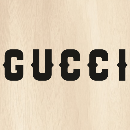 Gucci Letter Black Svg