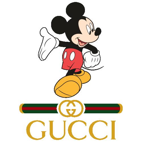 Gucci Disney Logo Svg