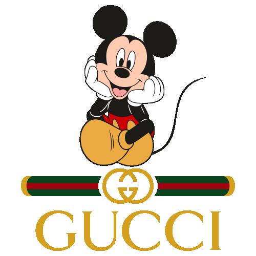 Mickey Gucci Logo Svg