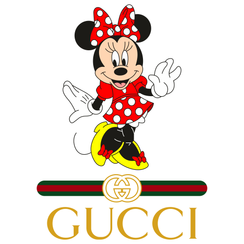 Gucci Minnie Mouse Logo Svg