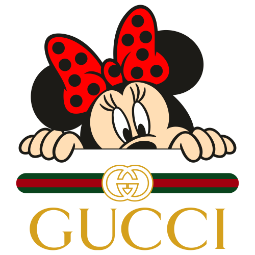 Minnie Mouse Gucci Logo Svg