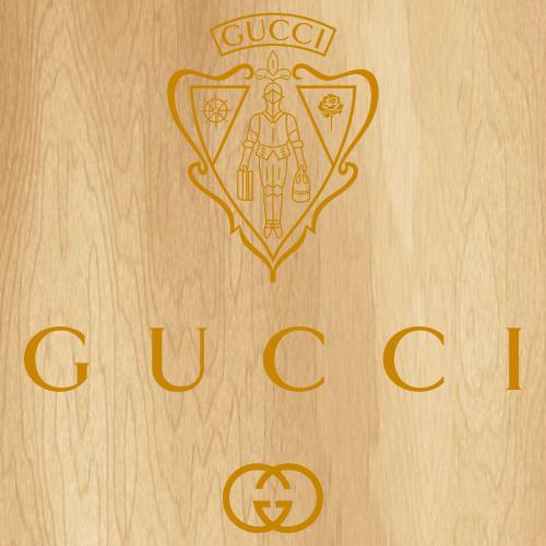 Gold Gucci Museo Logo Svg