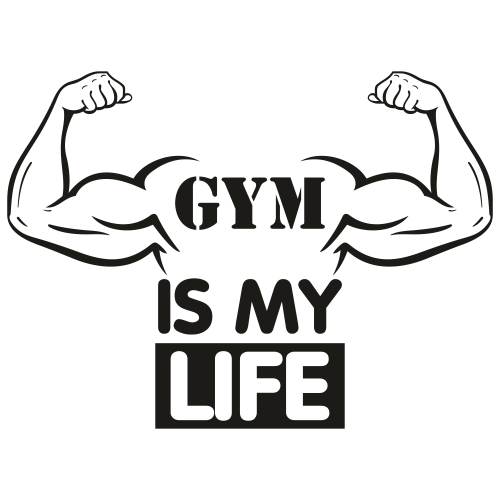 Gym is my Life Svg
