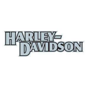 Harley Davidson word Logo Svg file