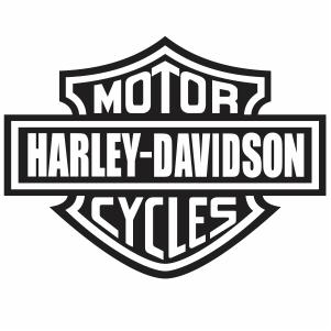 Harley Davidson Motor Cycle Logo vector