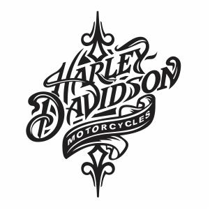 Harley Davidson Motorcycle Logo Vector