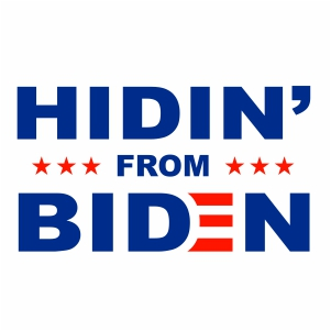 Hiding from Biden Svg