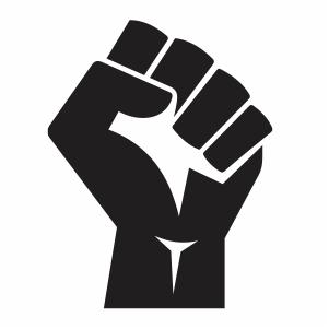 Hand Black Lives Matter Vector