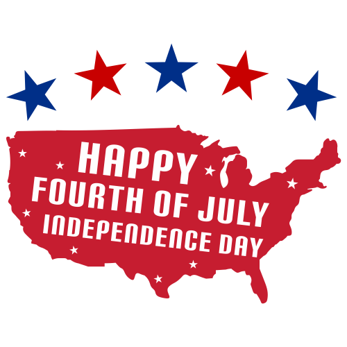Happy 4th July Indepemdence Day Svg