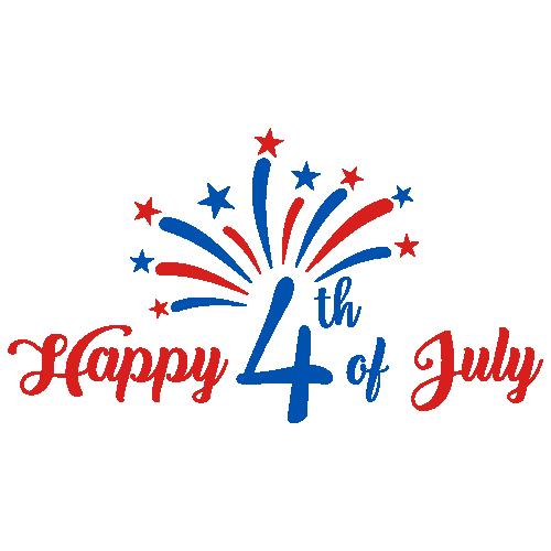 Happy 4th of July  America Svg