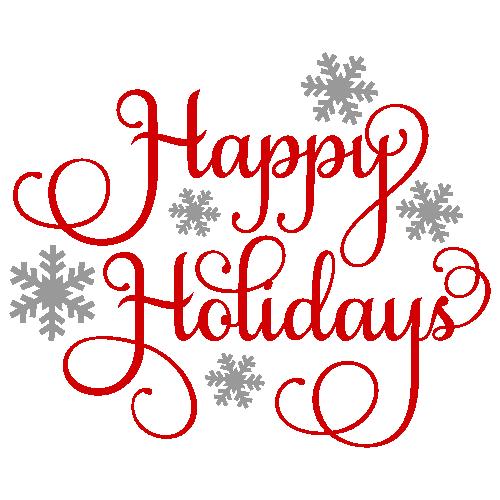 Happy Holidays SVG