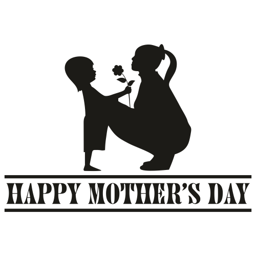 Happy Mothers day Mon And Son Svg