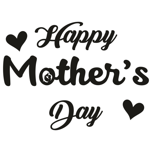 Happy Mothers day logo Svg