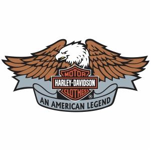 Harley Davidson eagle Logo vector