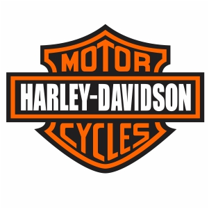 Harley Davidson Cycles Logo Vector