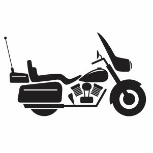 Harley Davidson Bike svg cut