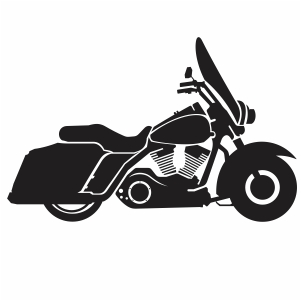 Harley Davidson american style motorcyle svg