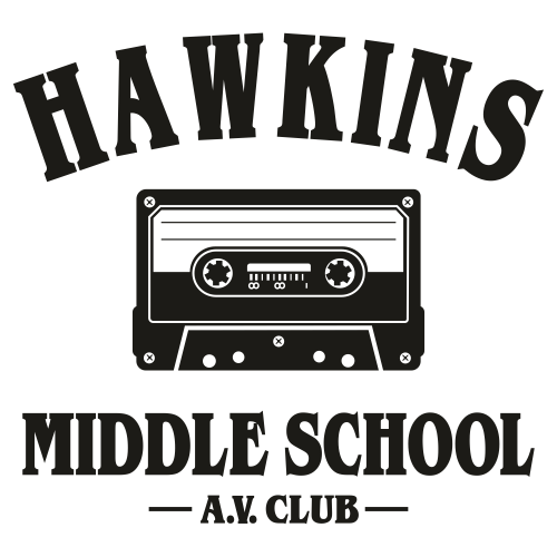Hawkins Middle School Svg