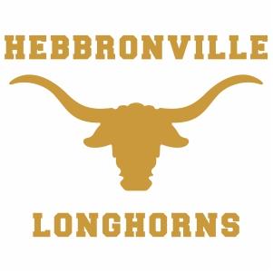 Hebbronville Longhorns logo vector file