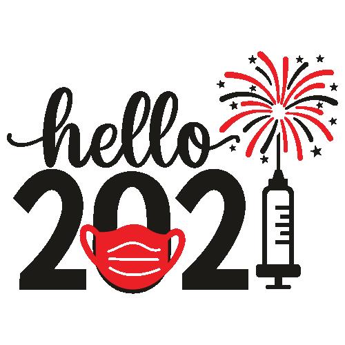Hello 2021 Svg