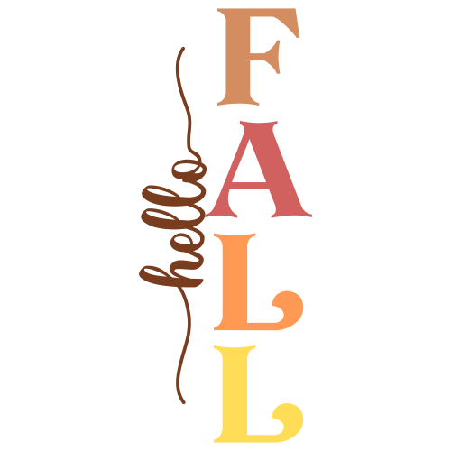 Fall Porch Sign Svg