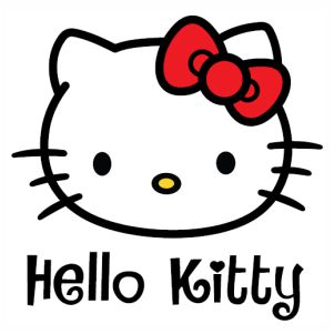 Hello Kitty svg cut
