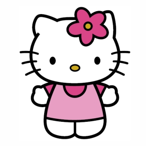 Hello Kitty logo svg