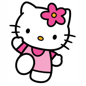 Cute Hello Kitty svg