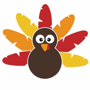 Thanksgiving Turkey Svg