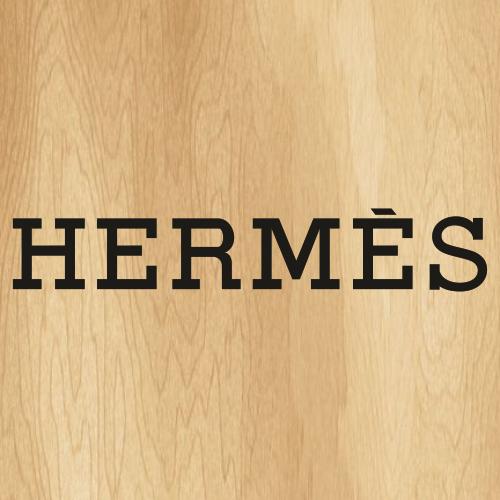 Hermes Letters Svg