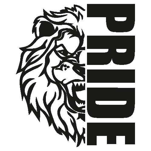 Lions High School Mascot SVG