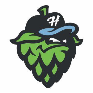 Hillsboro Hops Cap Logo Vector
