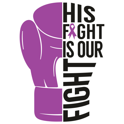 His Fight Is Our Fight For Breast Cancer Svg
