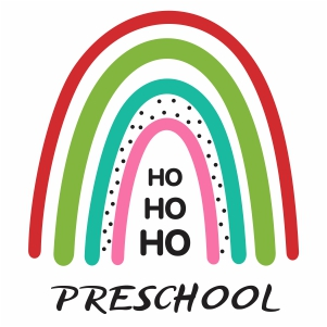 Ho Ho Ho Preschool Svg