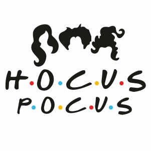 Hocus Pocus Svg For Silhouette