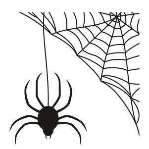 Hocus Pocus Spider Web Svg