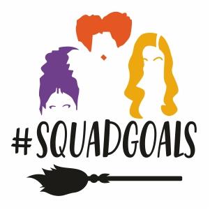 Hocus Pocus Squad Goals Svg