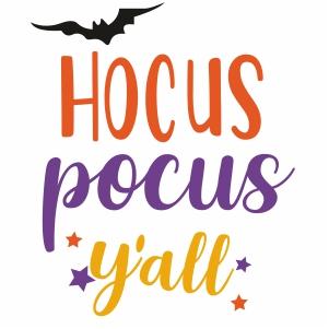 Hocus Pocus Yall Svg