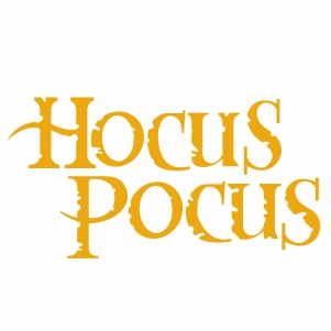 Hocus Pocus Svg
