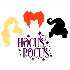 Hocus Pocus vector file