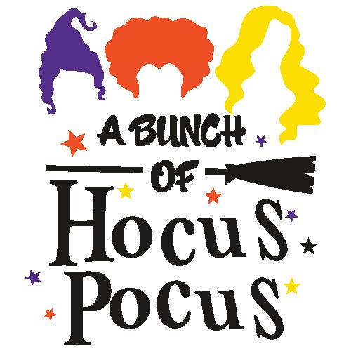 A Bunch Of Hocus Pocus Svg