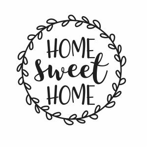 Home Sweet Home Svg Home Sweet Home Circle Svg Cut File Download Jpg Png Svg Cdr Ai Pdf Eps Dxf Format