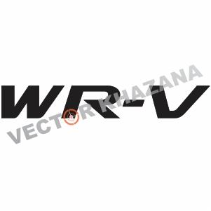 Honda WR-V Logo Vector
