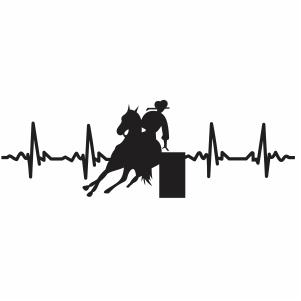 Horse Heartbeat Vector