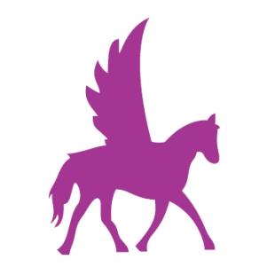 Unicorn Horse fly svg