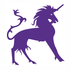 Unicorn Horse Horn vector
