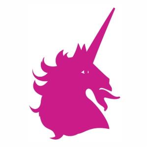 Unicorn Horse head vector
