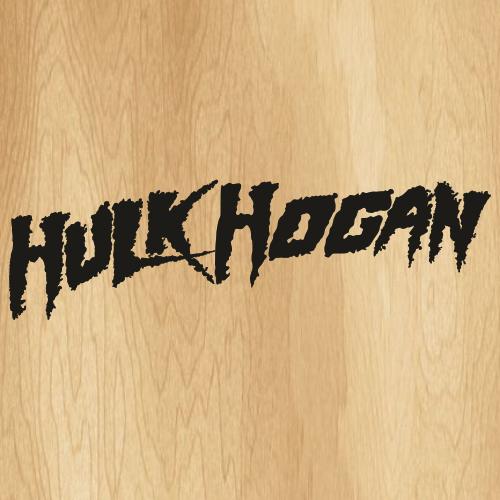Hulk Hogan Black Svg