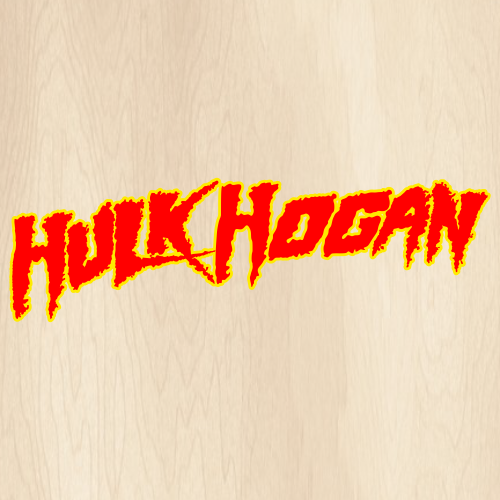 Hulk Hogan Svg